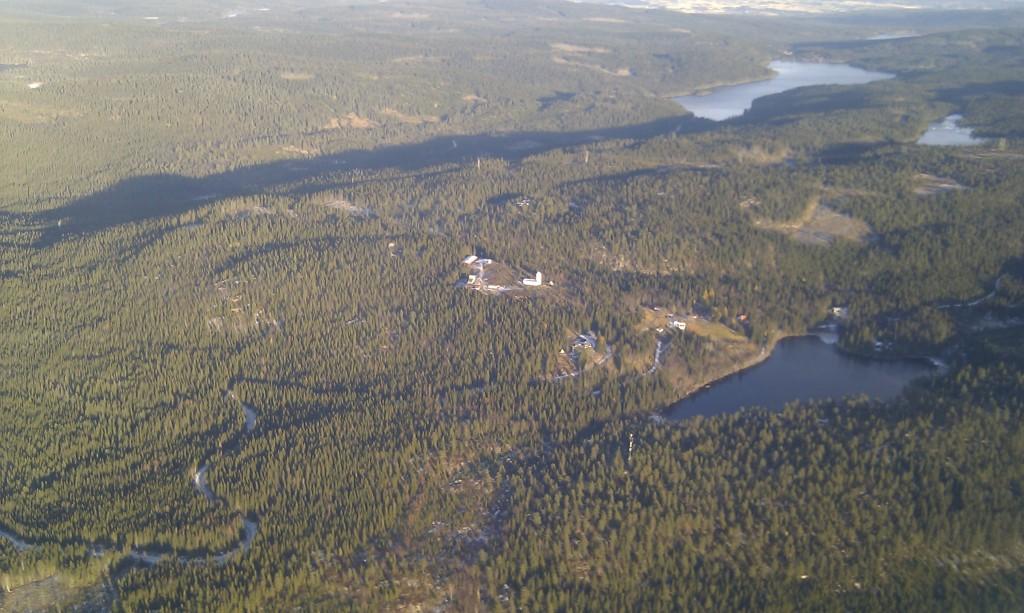 Solobservatoriet på Harestua.
