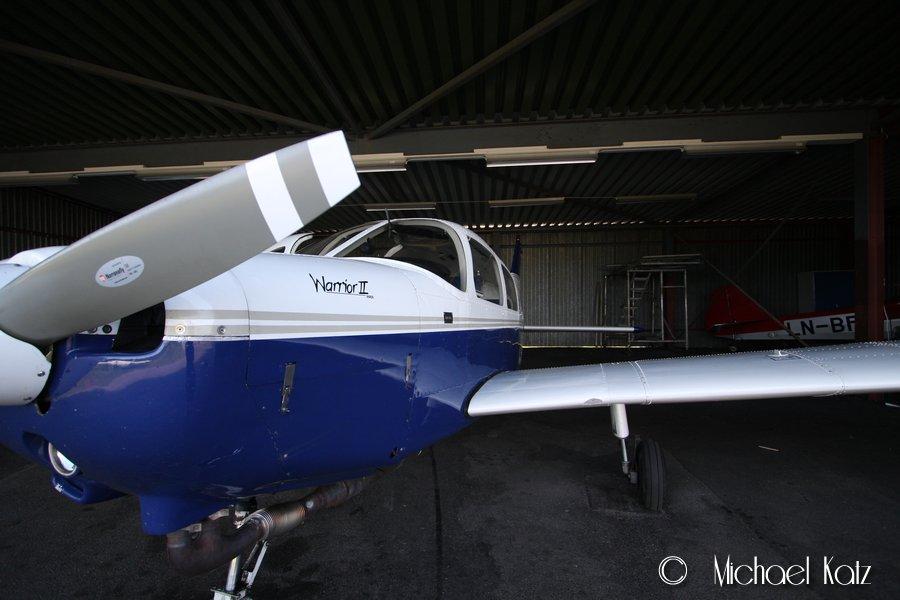 Nedre Romerike Flyklubbs Piper PA-28-161 Warrior II.