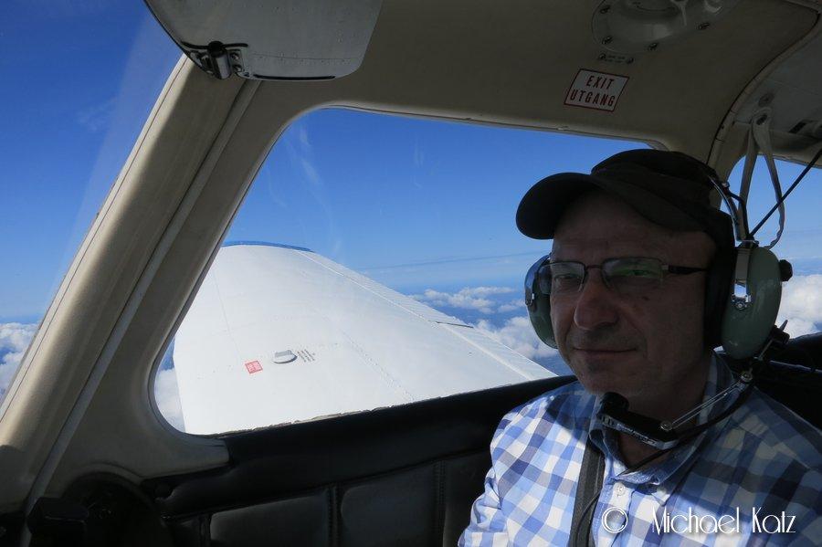 Min fars første småflytur siden 1968.