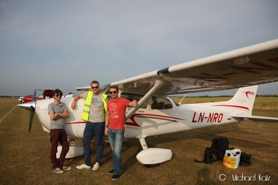 The Flying Legends har ankommet Duxford etter 2 dager og 8 timers flytid.