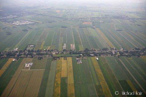 Slettes ikke mangel på nødlandingsplasser over Nederland.
