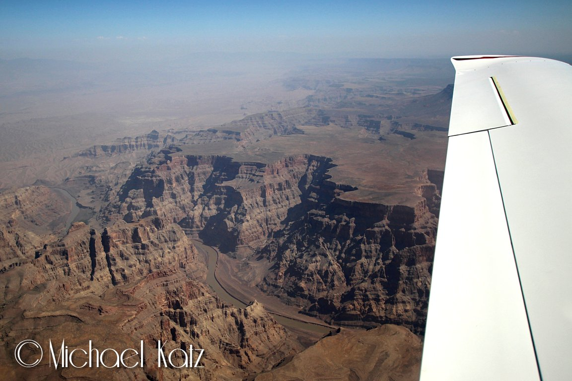 Grand Canyon fra 11.500 fot.