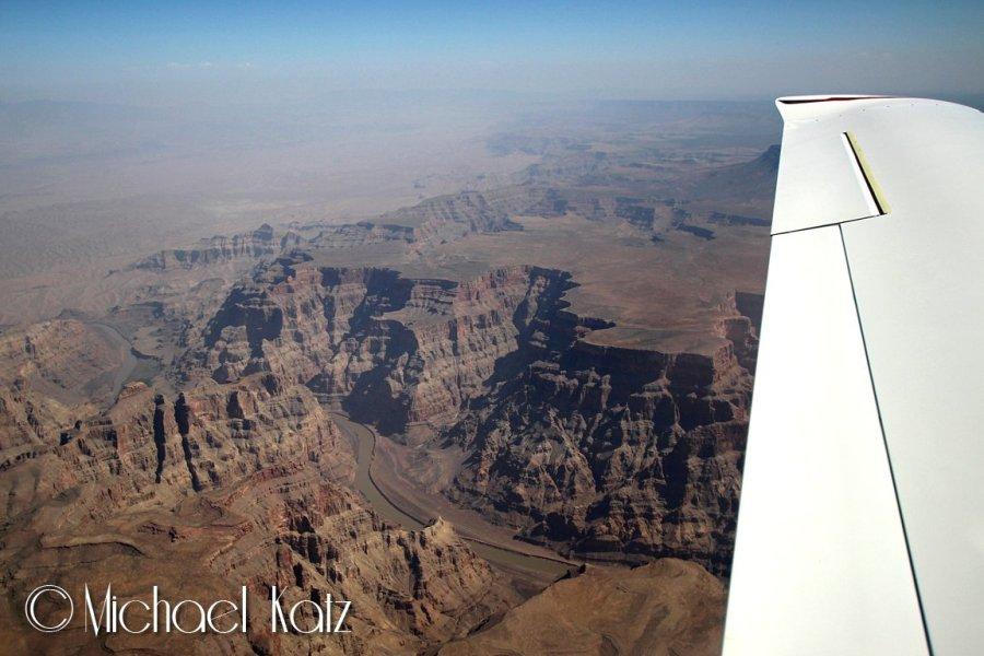 Grand Canyon fra 11.500 fot.