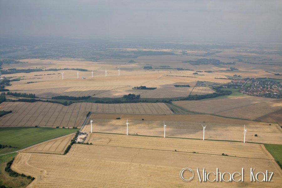 Vindmøller og atter vindmøller.