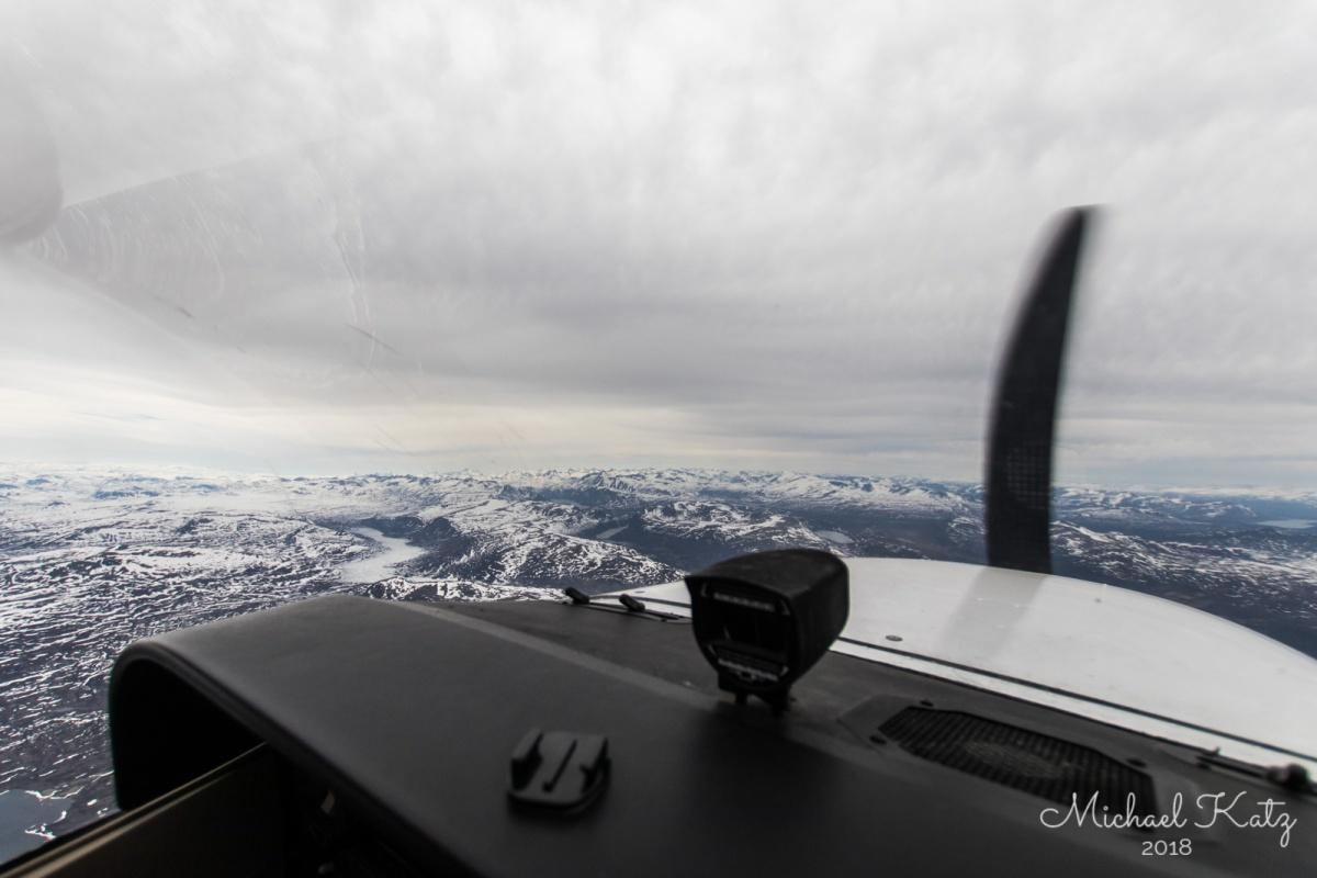 Over fjellheimen på Nordvestlandet på vei mot Molde.